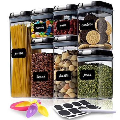 Airtight Food Storage Container Set - 7 PC - Kitchen