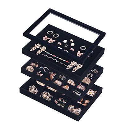 Coward Velvet Stackable Jewelry Organizer Tray