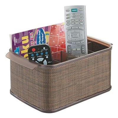 Storage Organizer Caddy for TV Remote Controls