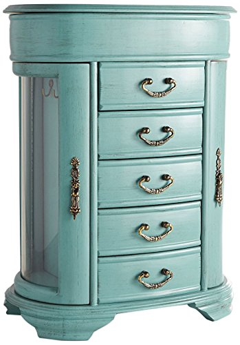 Hives & Honey Daphne Oval Glass Turquoise