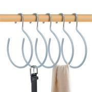 HangerSpace Scarf Ring Hanger Belt Rack, 5 Pcs Non-Slip