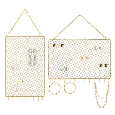 Wall Holder Hanging Jewelry Organizer Display
