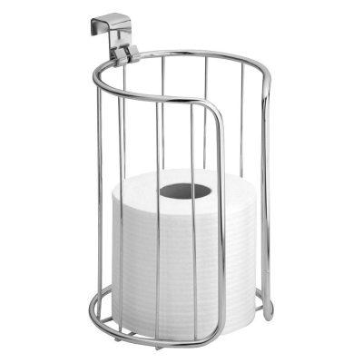 iDesign Classico Metal Toilet Paper Reserve