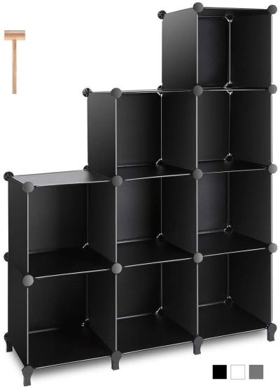 TomCare Cube Storage 9-Cube Closet Organizer