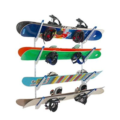 Snowboard Multi Wall Storage Rack