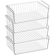 Pantry organization Under shelf storage basket