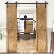 WINSOON Sliding Barn Wood Door Hardware Cabinet