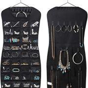 Dual sided Hanging Jewelry Organizer