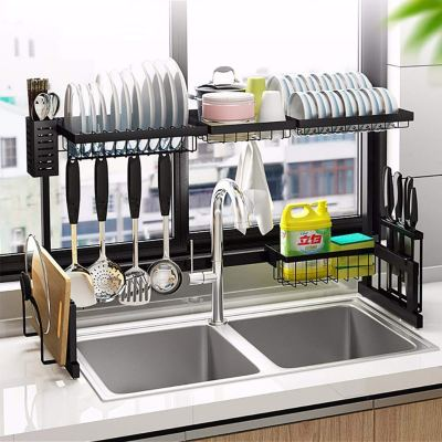 MICOE Over The Sink Dish Drying Rack for Kitchen Supplies