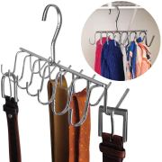 Handbag-Chrome Metal-14 Hooks