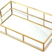 Jewelry Perfume Organizer Makeup Tray for Vanity