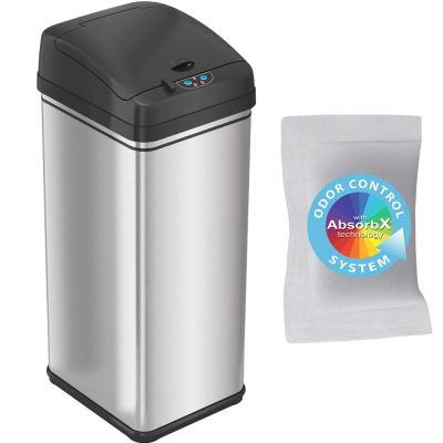 iTouchless 13 Gallon Pet-Proof Sensor Trash Can