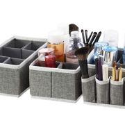 Cosmetic Makeup Storage Organizer Box Bins for Makeup Brushes
