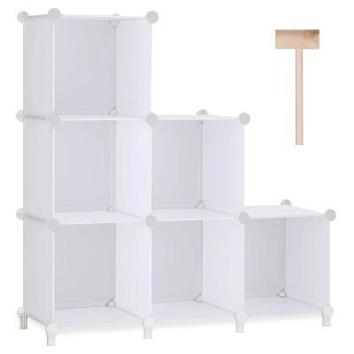 Storage Organizer 6-Cube Closet Storage