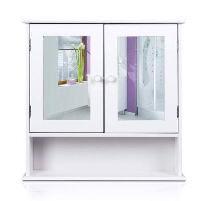 HOMFA Bathroom Wall Cabinet Multipurpose, Kitchen Medicine Storage