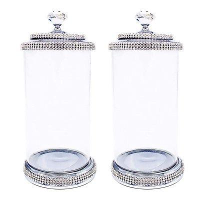 GY Shining Decorative Crystal Terrarium Clear Glass 500ml Wedding Decoration
