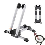 Clothink Bicycle Floor Wheel Stand Holder