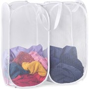 Mesh Popup Laundry Hamper are Great for The Kids Room