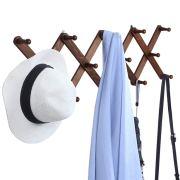 OROPY Wooden Expandable Coat Rack Hanger