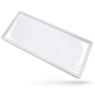 Toothbrush Holder Rectangle Tray for Vanity Countertop