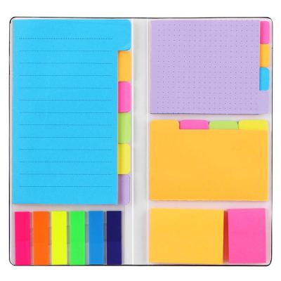 Sticky Notes Set, Hommie Colored Divider Self-Stick Notes