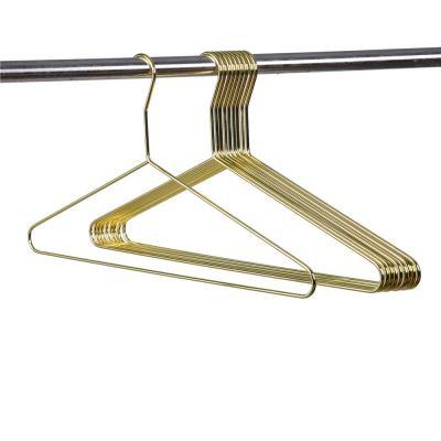 Gold Modern Extra Heavy Duty Metal Hangers