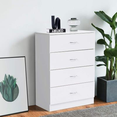 Lifetech Drawer Dresser White Cabinet Drawers Storage Chest