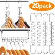 AMKUFO 20 Pack, Space Saving Hangers
