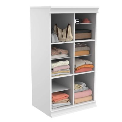 ClosetMaid Modular Closet Storage Stackable Shelf Unit