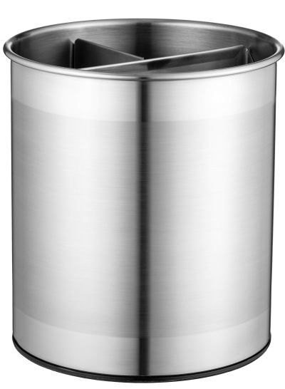 Large Stainless Steel Kitchen Utensil Holder