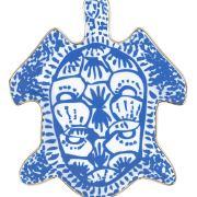 Lilly Pulitzer Women's Blue Porcelain Jewelry Trinket Tray
