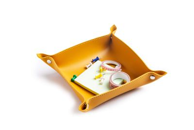 Valet Trays Leather-Small Catchall Tray for Men and Women