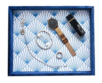 HofferRuffer Desktop Organizer Tray, Jewelry Tray