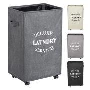 WOWLIVE 90L Large Rolling Laundry Hamper