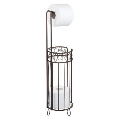 iDesign Twigz Steel Free-Standing Toilet Paper Storage Dispenser