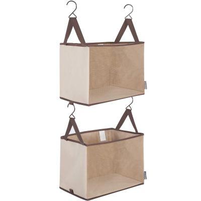 STORAGE MANIAC 2-Shelf Hanging Closet Organizer