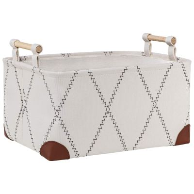 Fabric Storage Basket Bins for Home Office Organizing