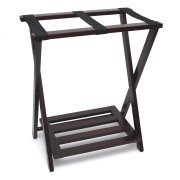 Lipper International Right Height Folding Luggage Rack