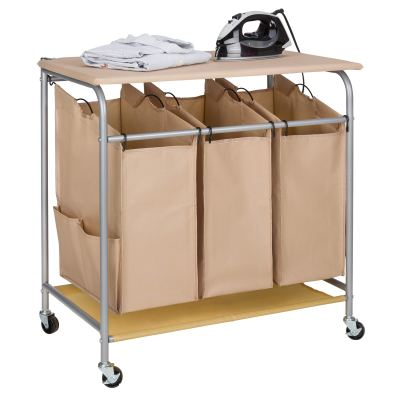 JINAMART Heavy Duty Laundry Sorter Bag