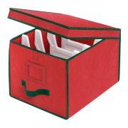 Whitmor Christmas Light Box Organizer Red