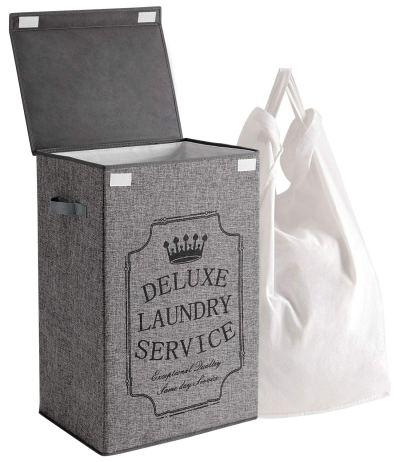 Laundry Hamper with Removable Liner Bag