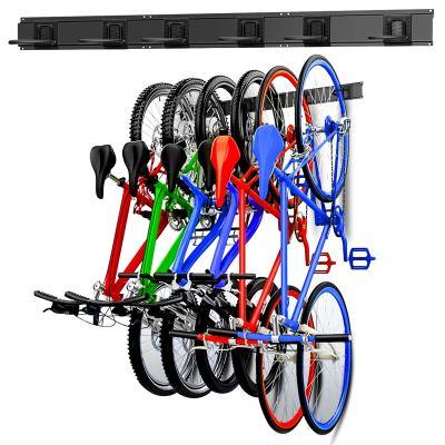 Walmann Bike Storage Rack, 6 Bike Hooks for Garage & Home