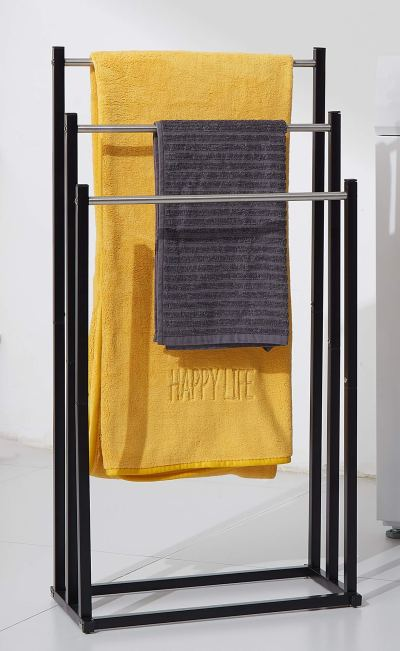 Stainless Steel Tall Outdoor Pool Towel Drying Holder