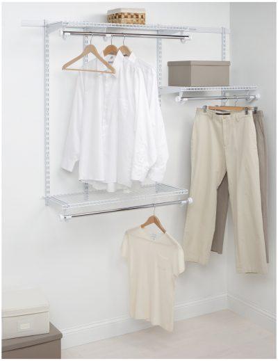Custom Closet Starter Kit Rubbermaid Configurations