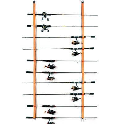 Fishing Rod Rack for Fishing Rods, Hiking Poles, Ski Poles