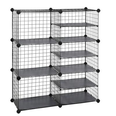 Interlocking Metal Wire Organizer with Divider Design