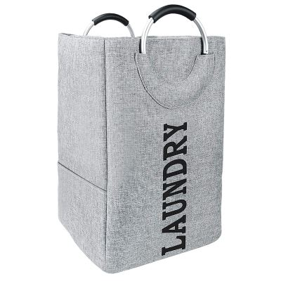 Double Laundry Hamper with Handle 73L
