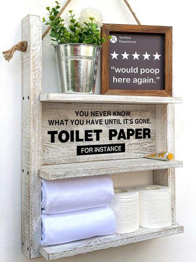 Toilet Paper Storage, or Box Diaper Organizer