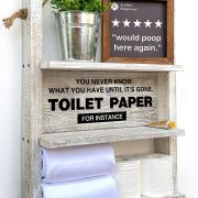 Toilet Paper Storage, or Box Diaper Organizer