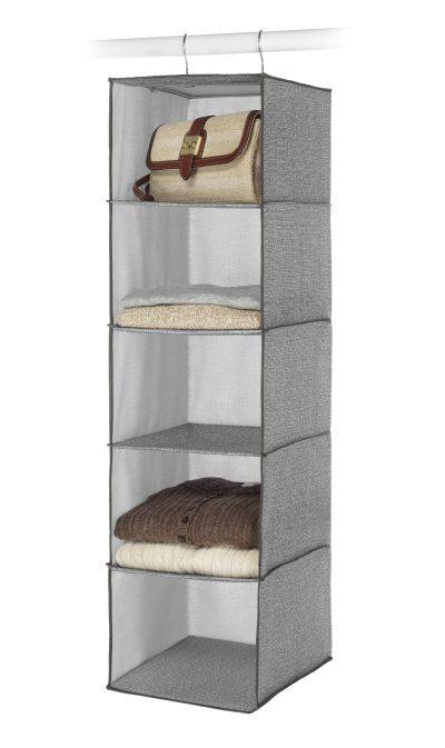 Whitmor Hanging Accessory Shelves 5 Open Sweater Shelves